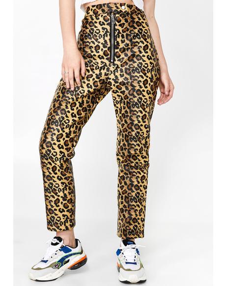 Puma Leopard Pants