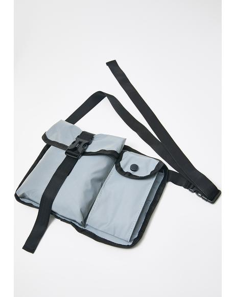 Proceed With Caution Messenger Bag