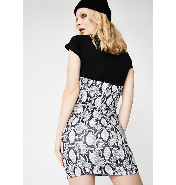 Kiki Riki Slithering Through Corset Skirt