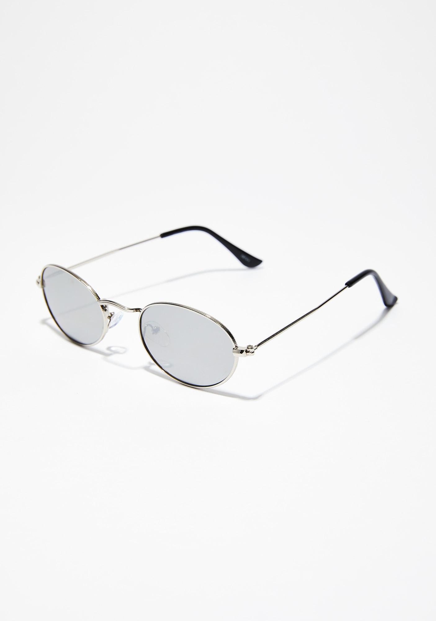 Hot Nights Mirrored Sunglasses