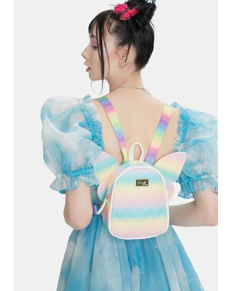 Kitsch Mini Butterfly Backpack