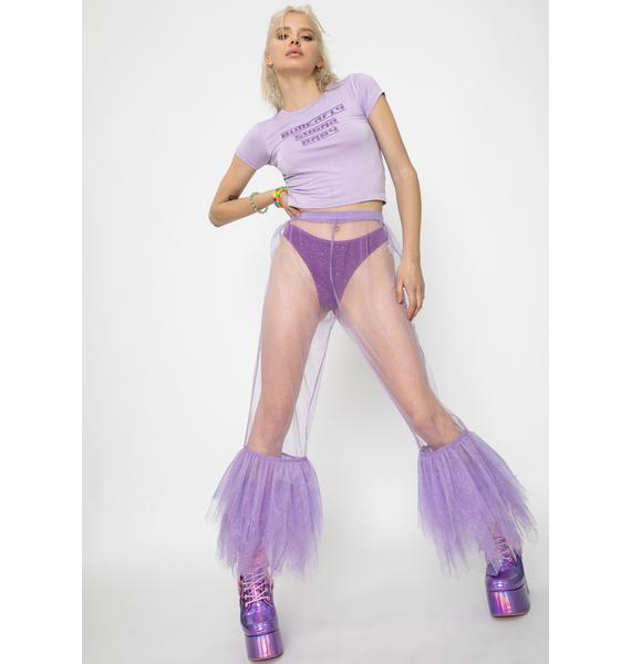 SHRINE River Tulle Trousers