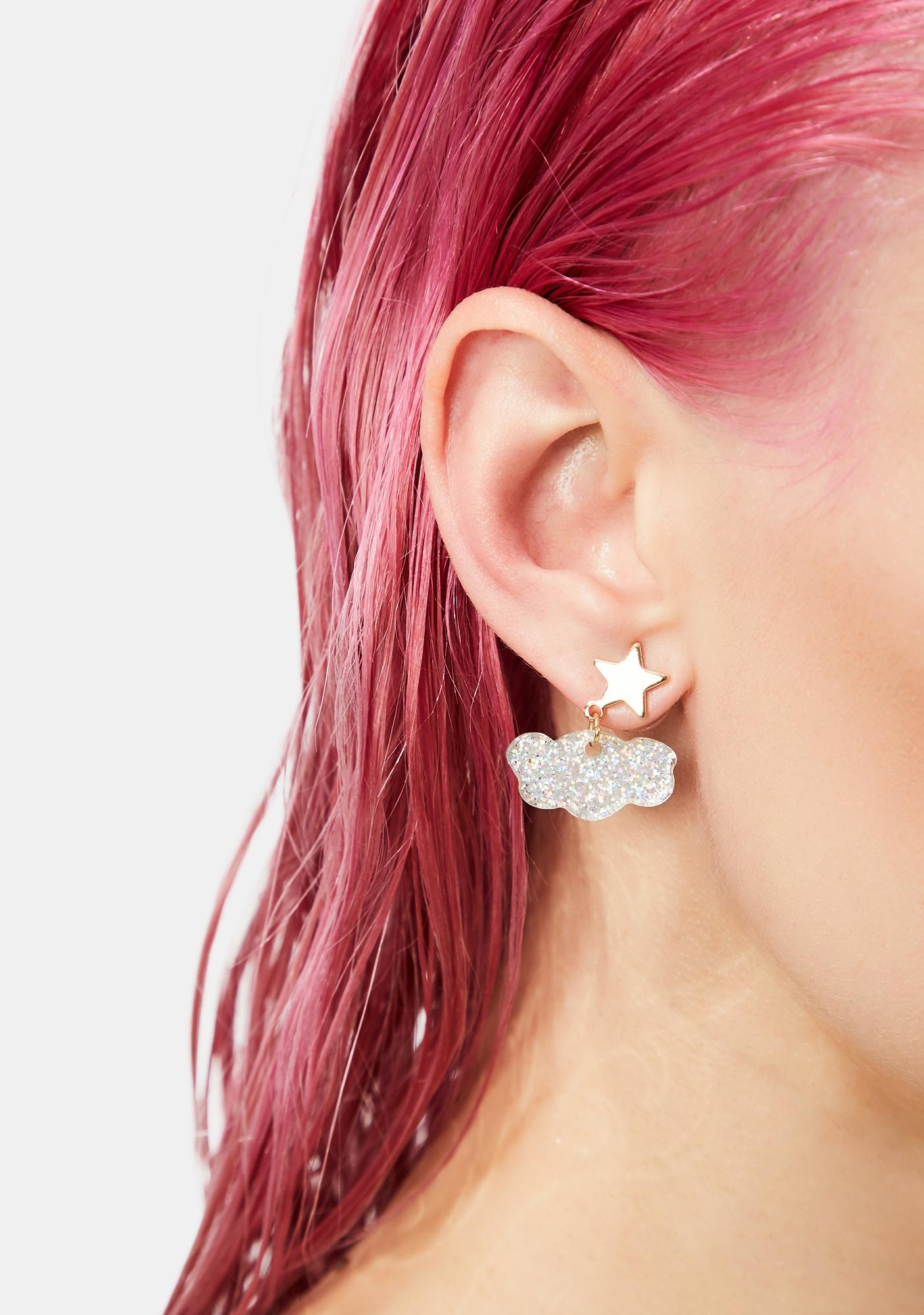 Heartbreak Weather Acrylic Earrings