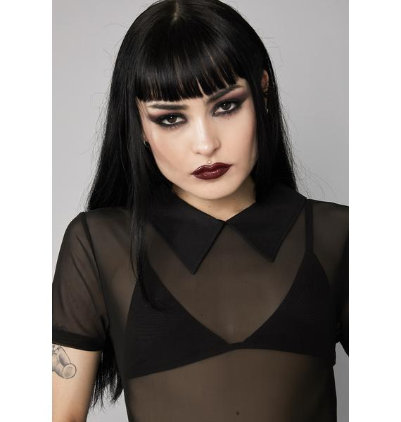Widow Sheer Insanity Mesh Top