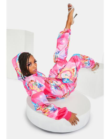 Higher Priestess Celestial Print Sweatpants