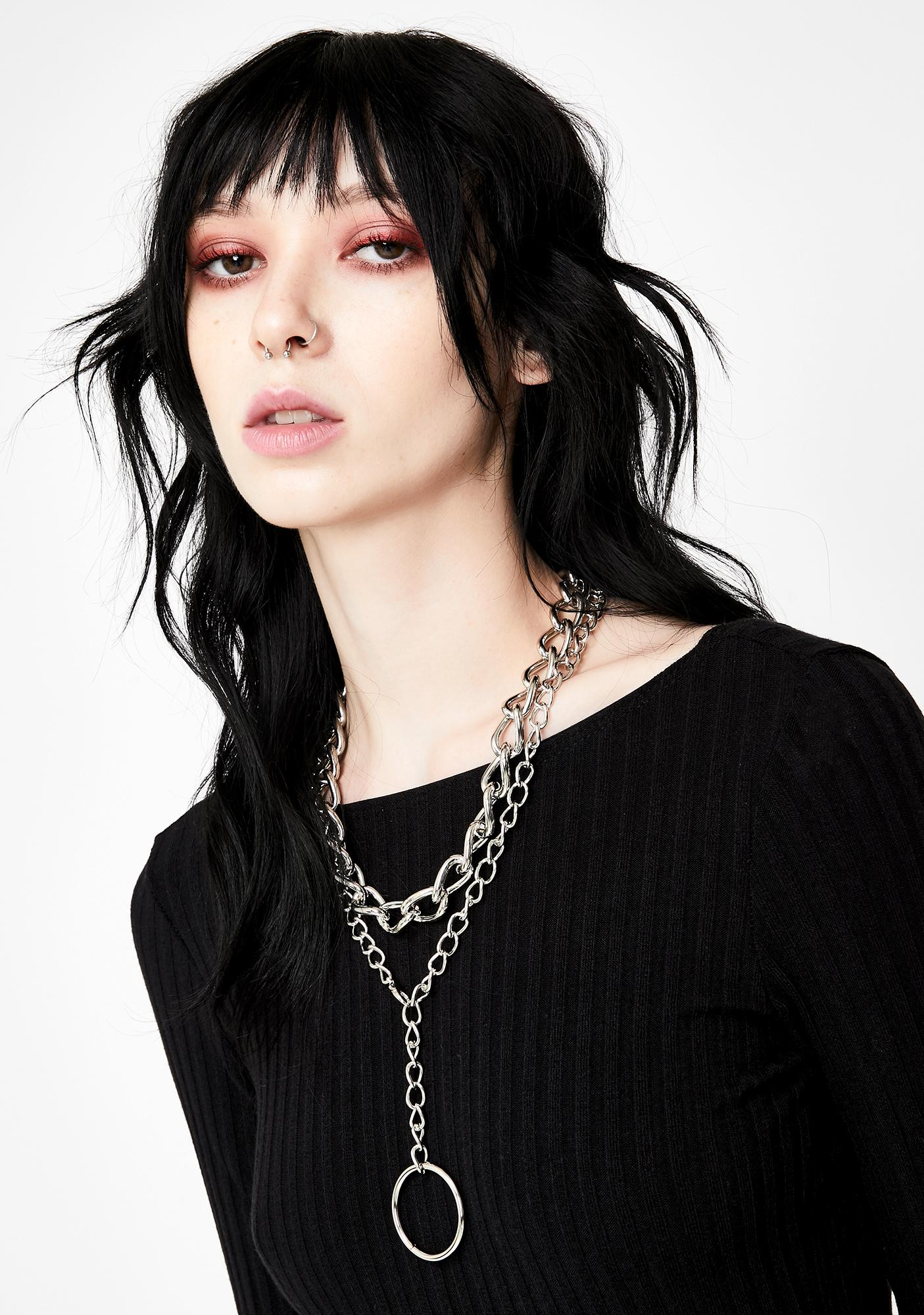 Broken Bonds Chain Necklace