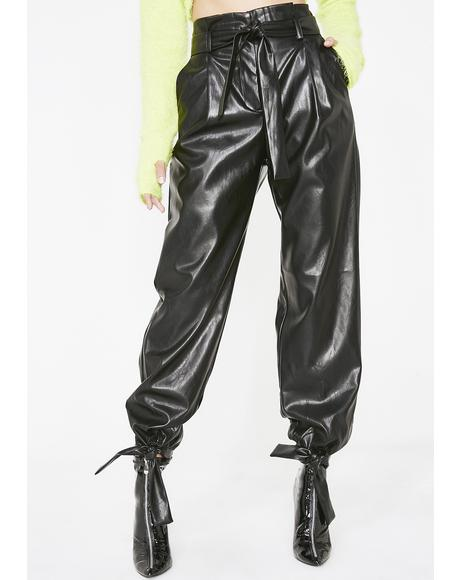 Here To Function PVC Pants