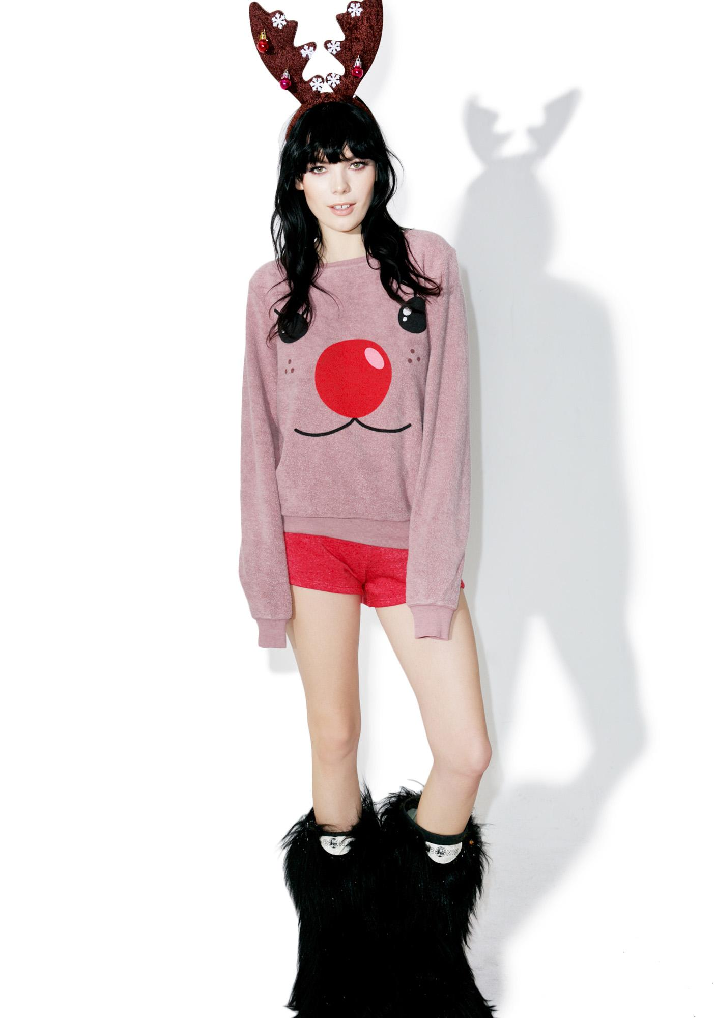 Wildfox Couture Rudy Baggy Beach Jumper