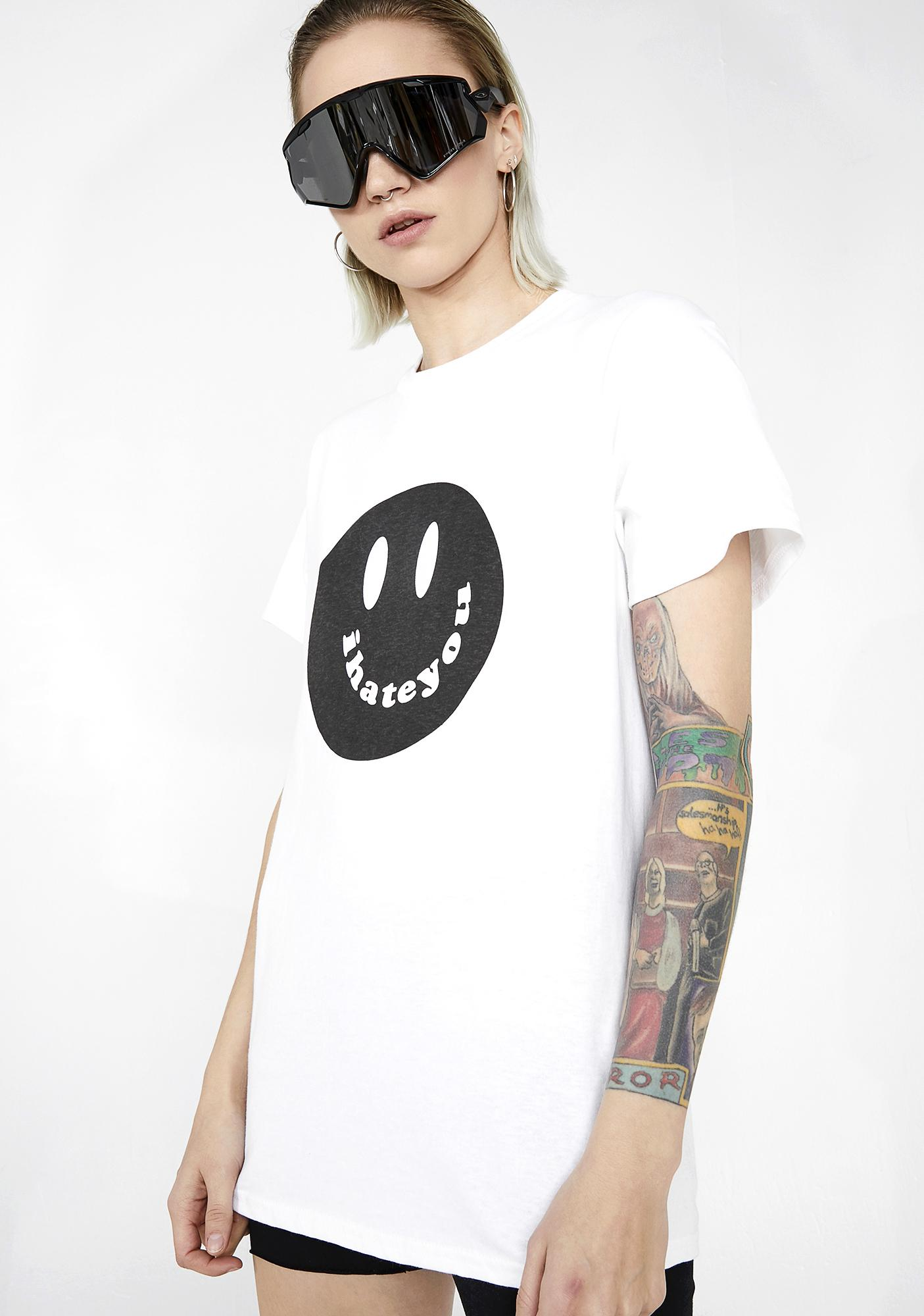 Illustrated People I Hate You Graphic Tee