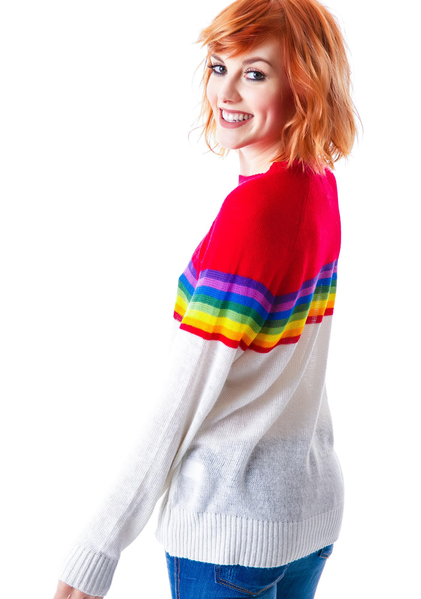 Wildfox Couture Ski Lodge Mini 70's Sweater