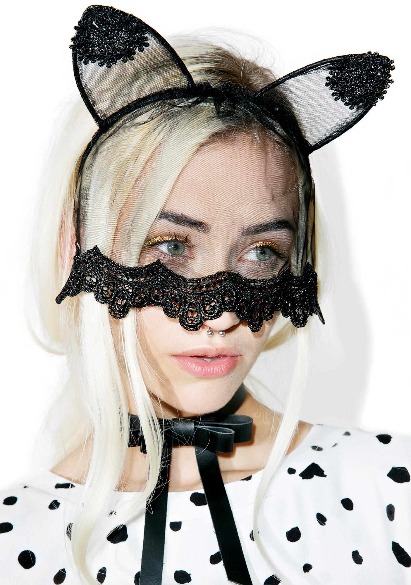 Veiled Night Kitty Ears