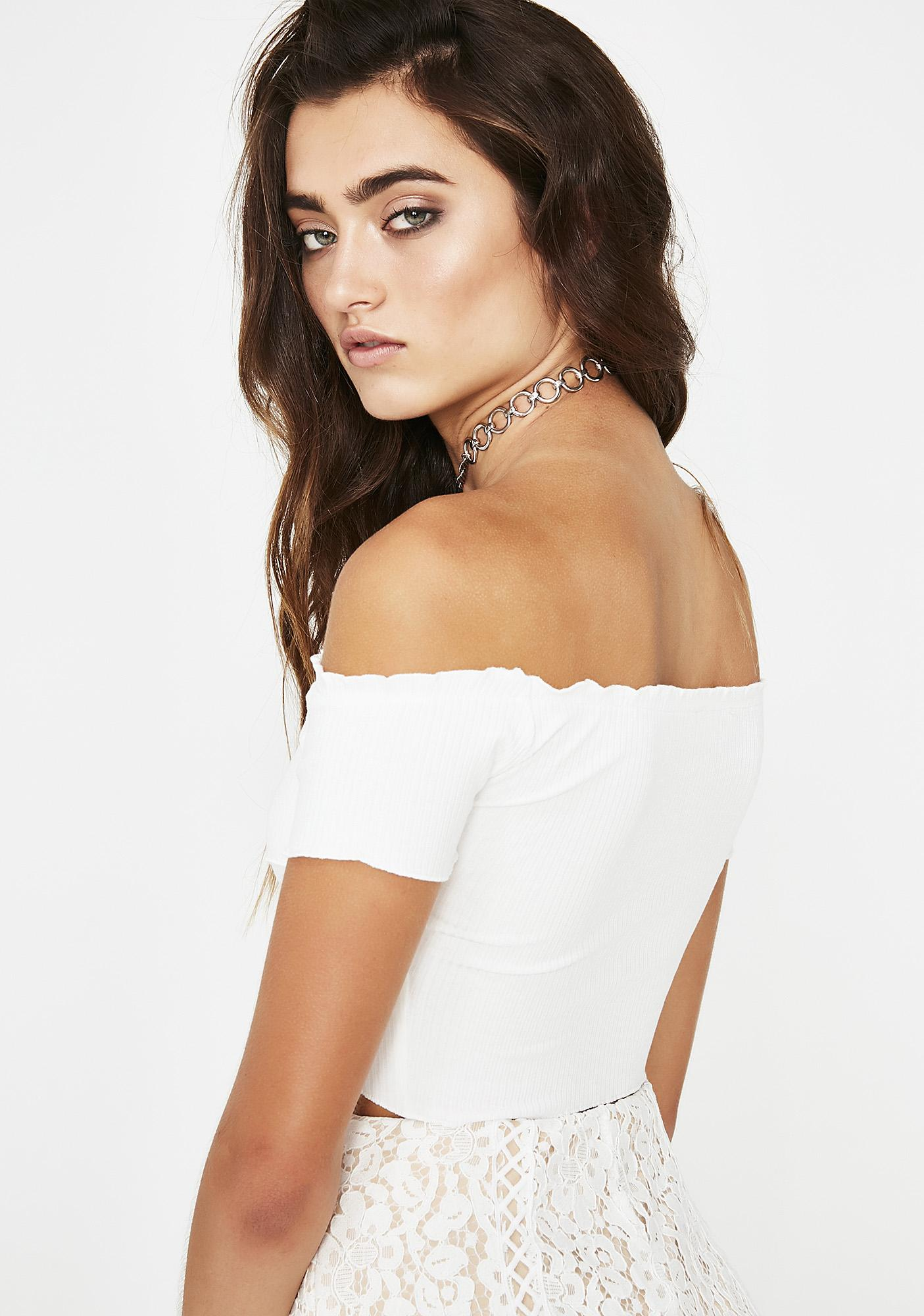 Icy Sunkissed Crop Top
