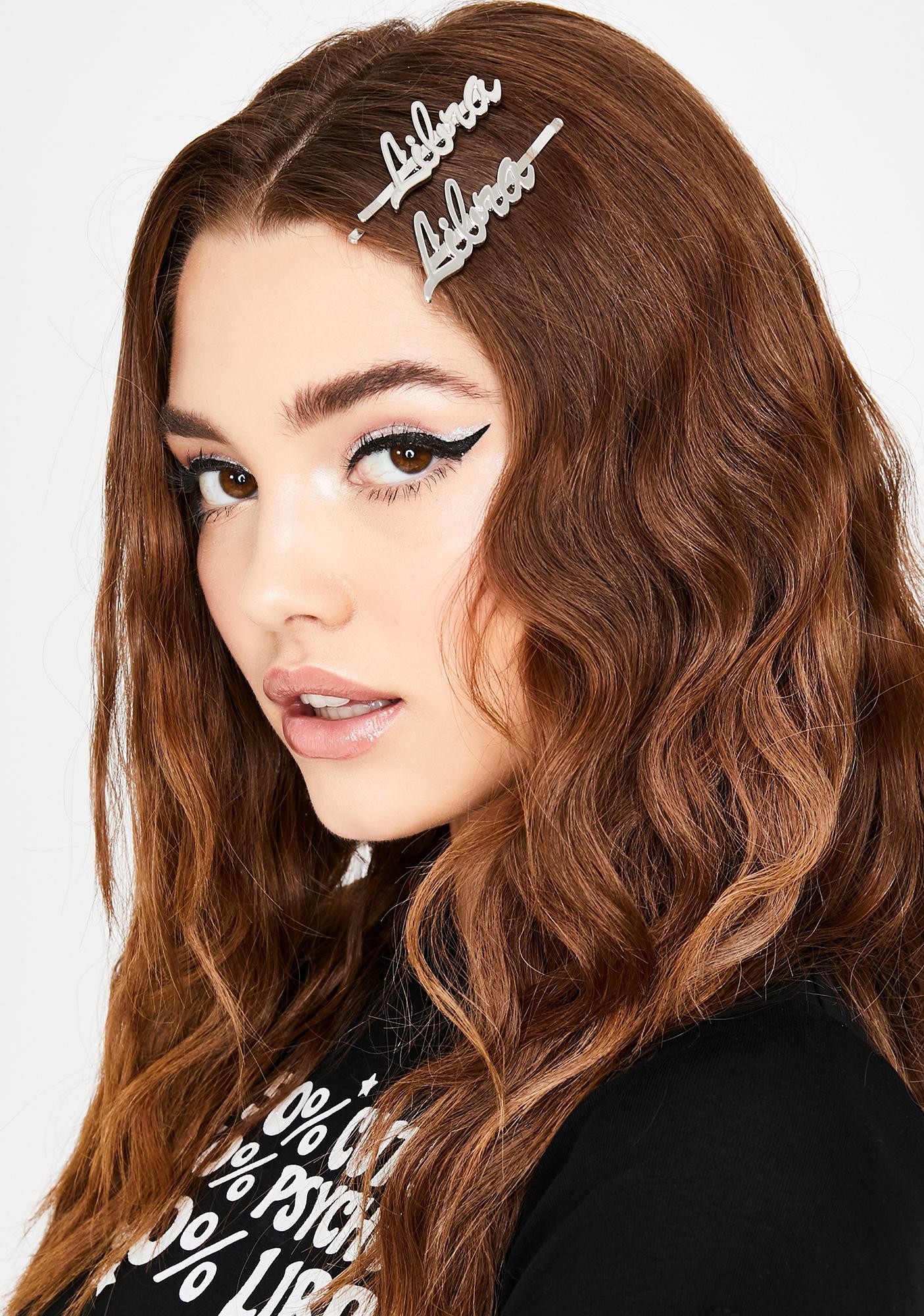 Luscious Libra Hair Pins