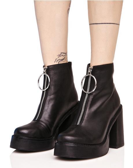 Franky Platform Boots