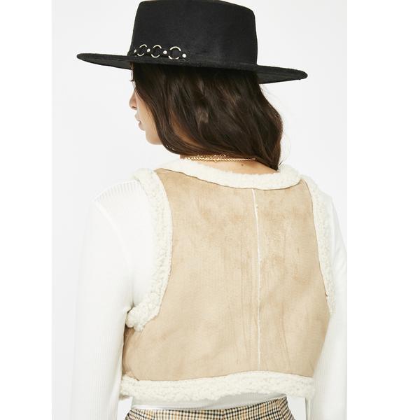 Rodeo Dough Faux Suede Vest