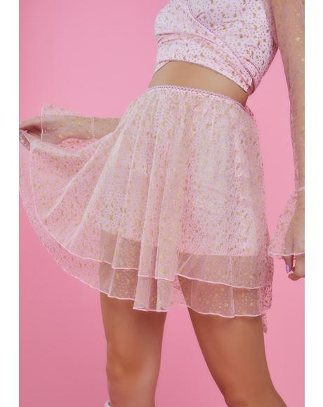 Just Like Magic Mini Skirt