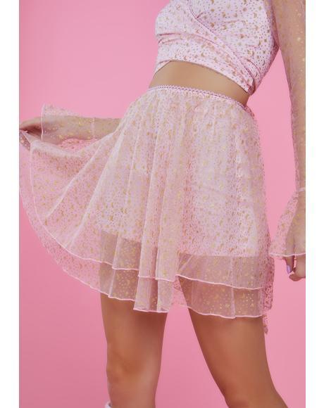 Just Like Magic Mini Skirt