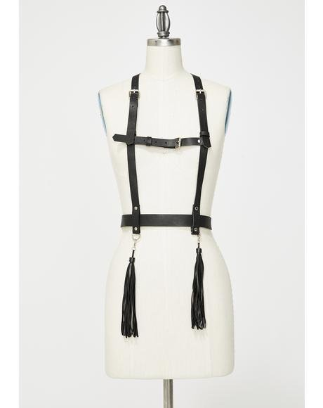 Whipped In Shape Bondage Harness