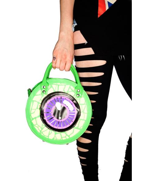 Clear Eyeball Handbag