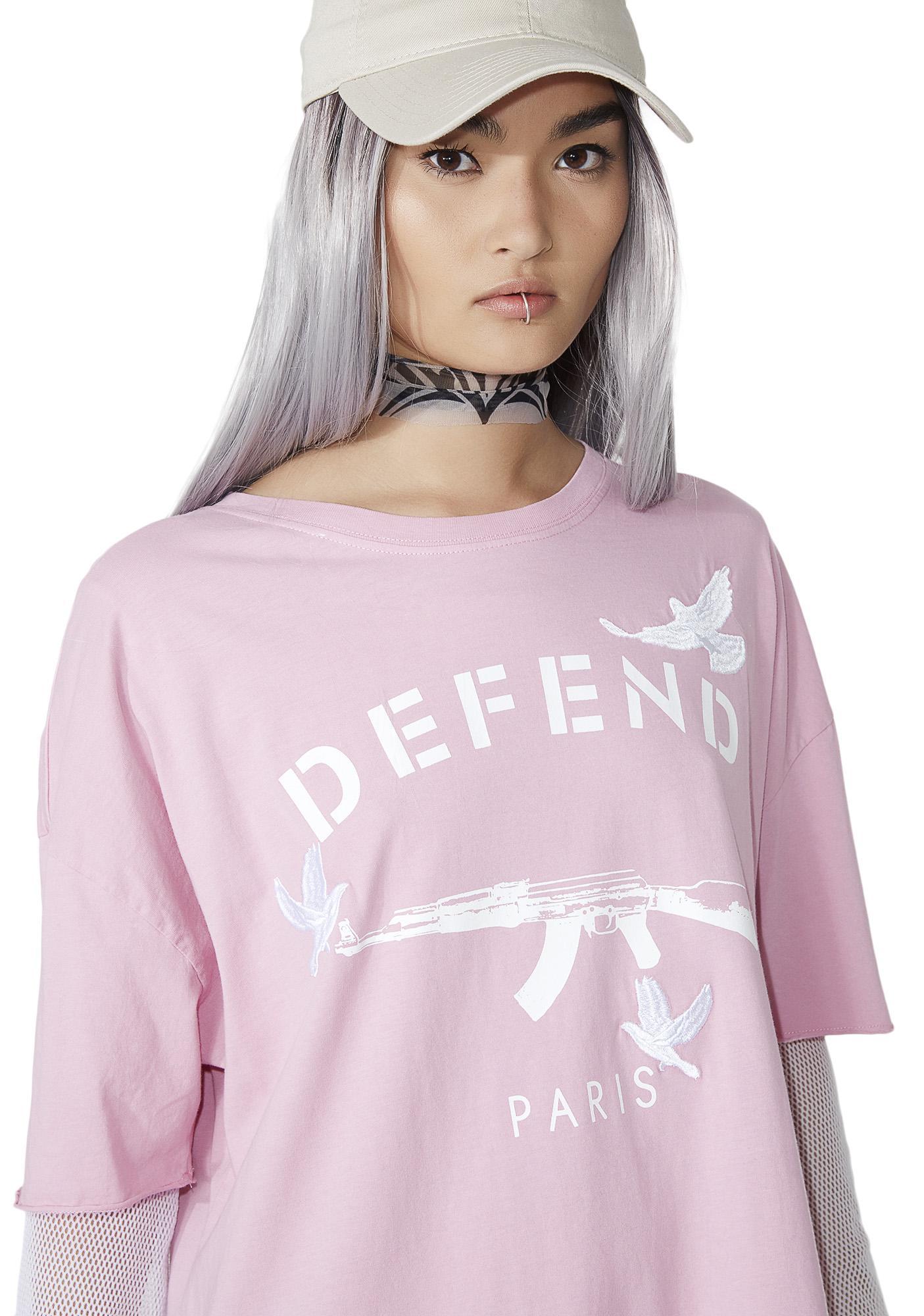 Defend Paris Faustin Tee