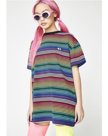 Somewhere Over The Rainbow Tee