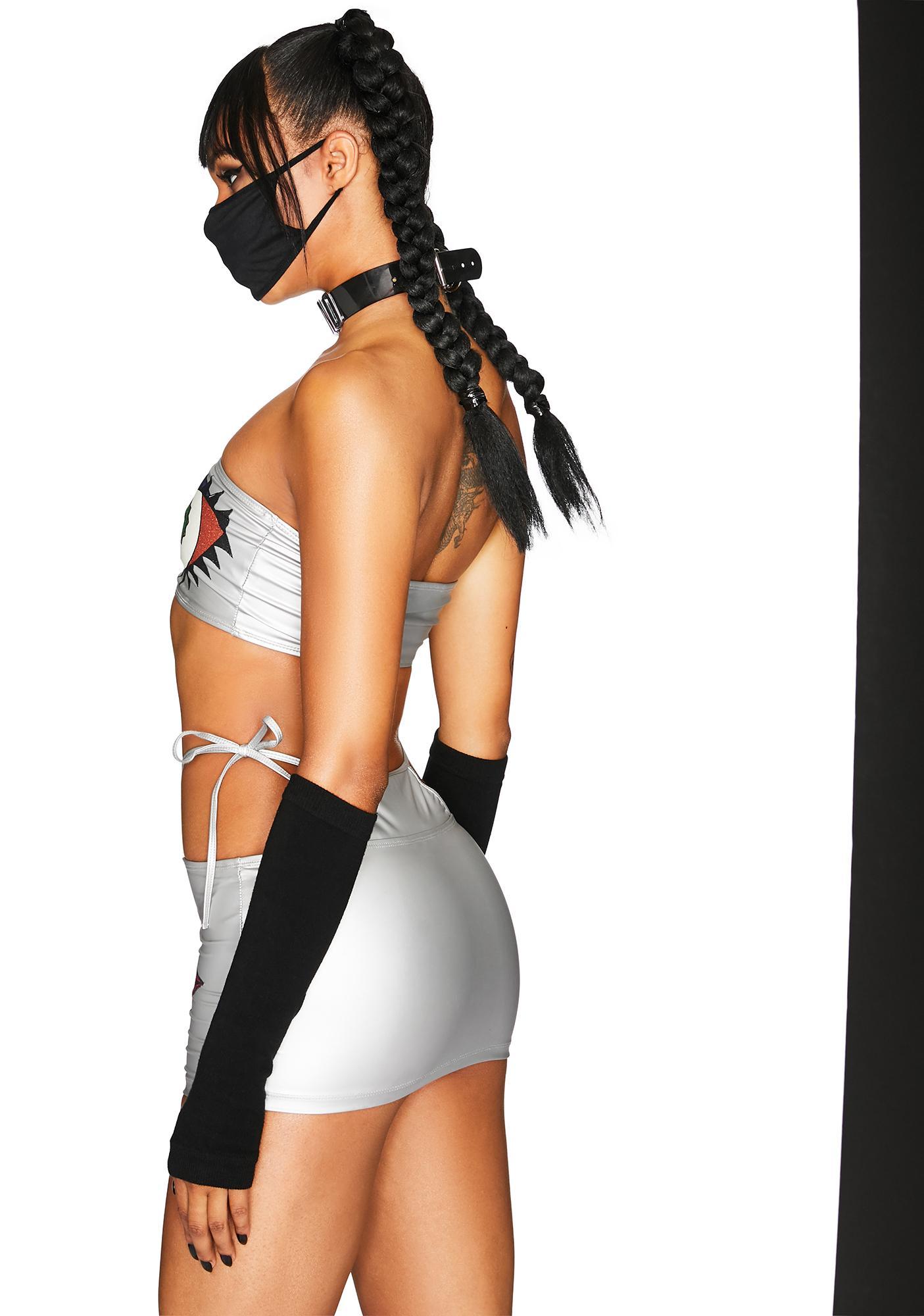Club Exx Craving Bass Skirt Set