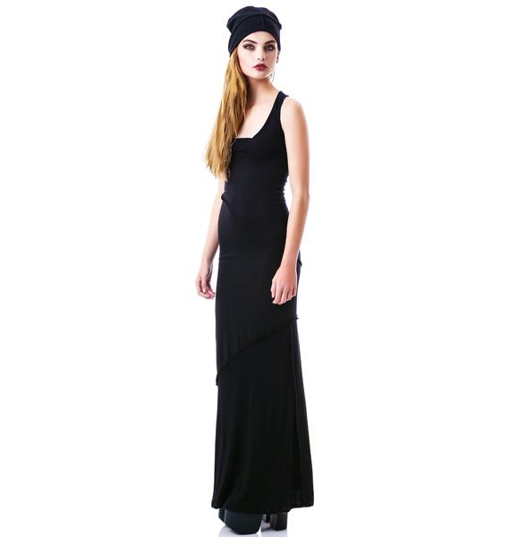 Widow Every Day is Like Sunday Maxi Dress