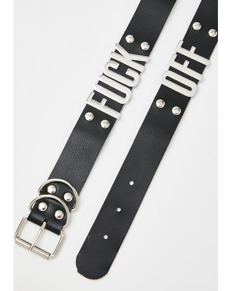 Fuxx Off Shoe Chains