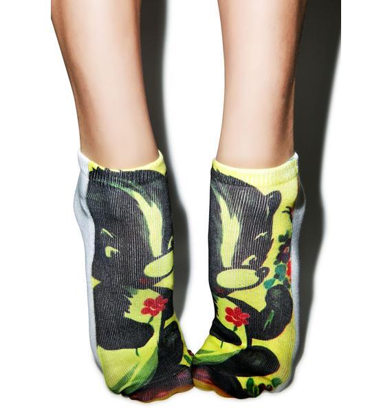 Old Skool Skunk Socks