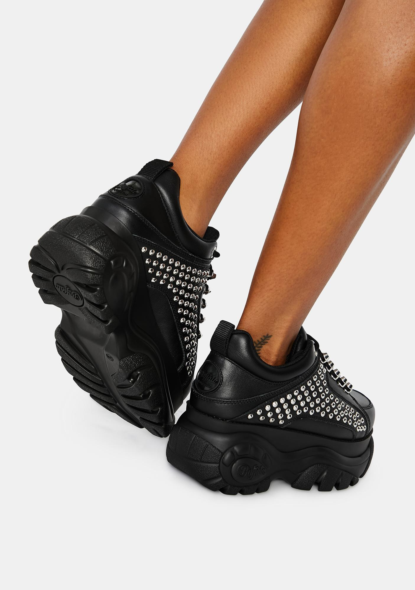 Buffalo London Studded Platform Sneakers