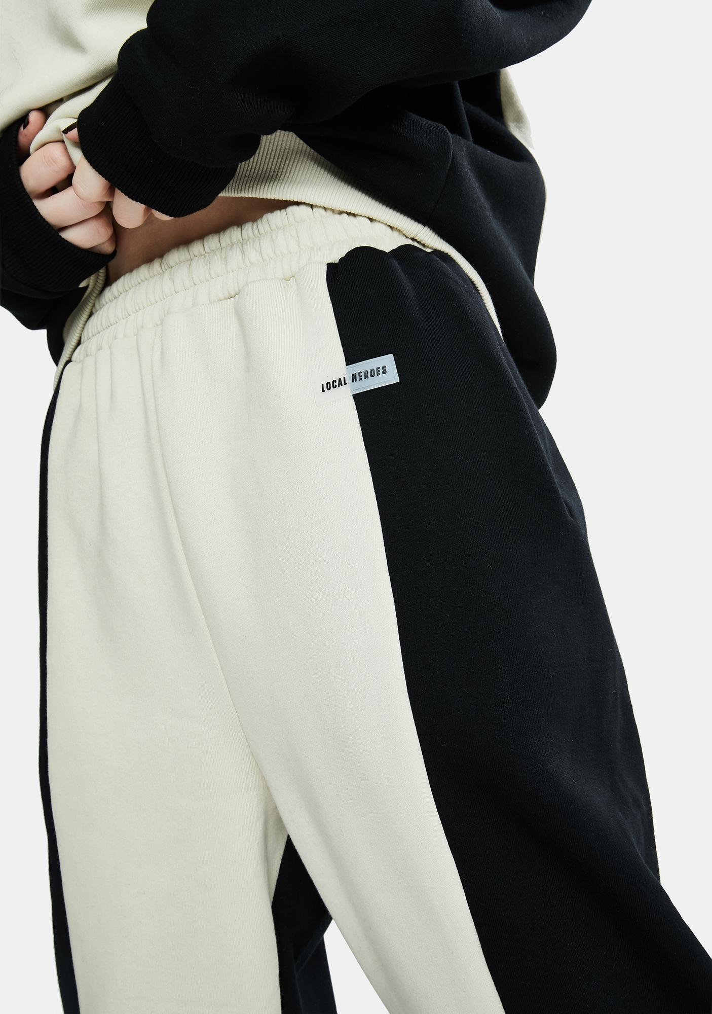Local Heroes Wave Two-Tone Sweatpants