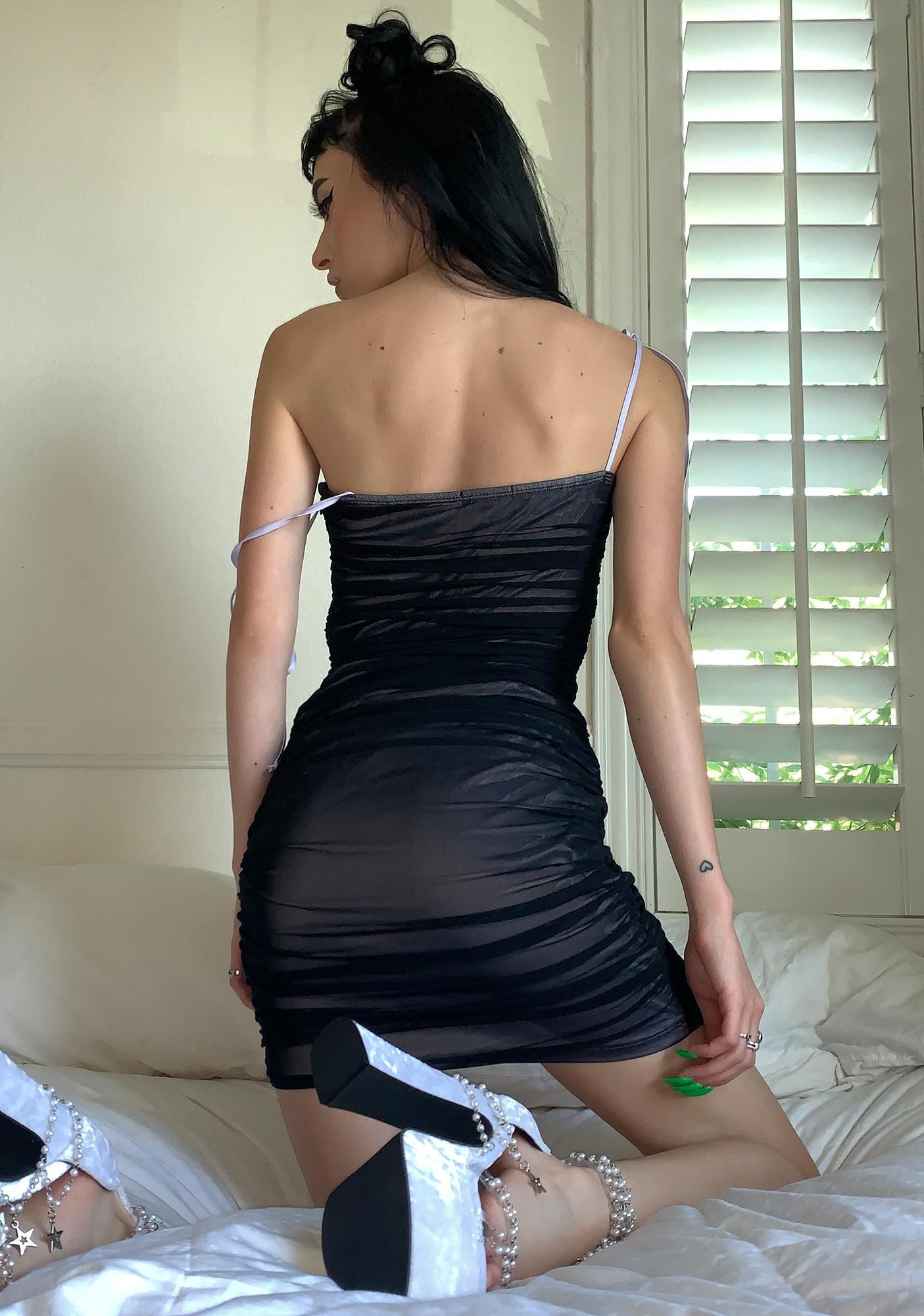 HOROSCOPEZ Emotionally Available Ruched Dress