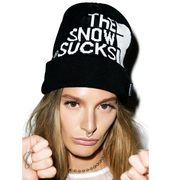 Reason Snow Sucks Beanie