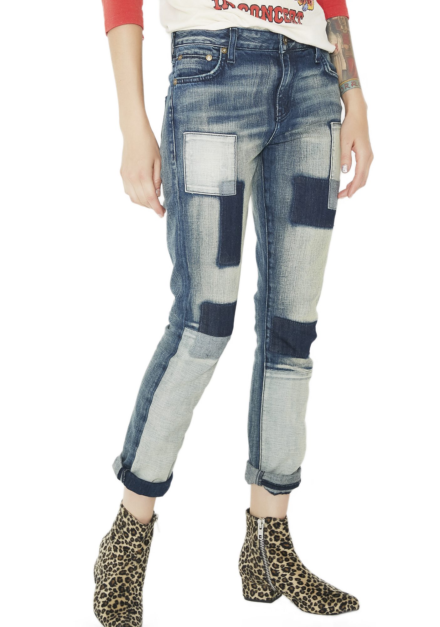 Kill City Mischief Patch Jeans
