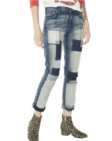 Mischief Patch Jeans