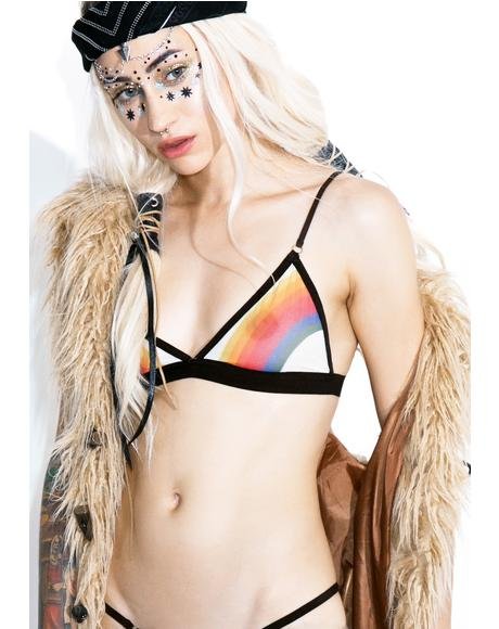 Rainbow Grace Bralette