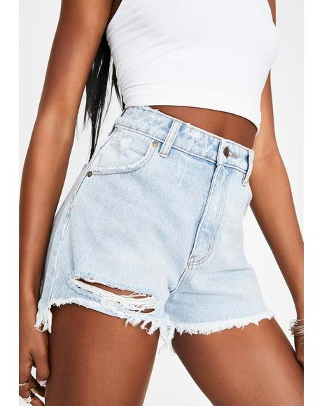 Layla Beach Dusters Denim Shorts