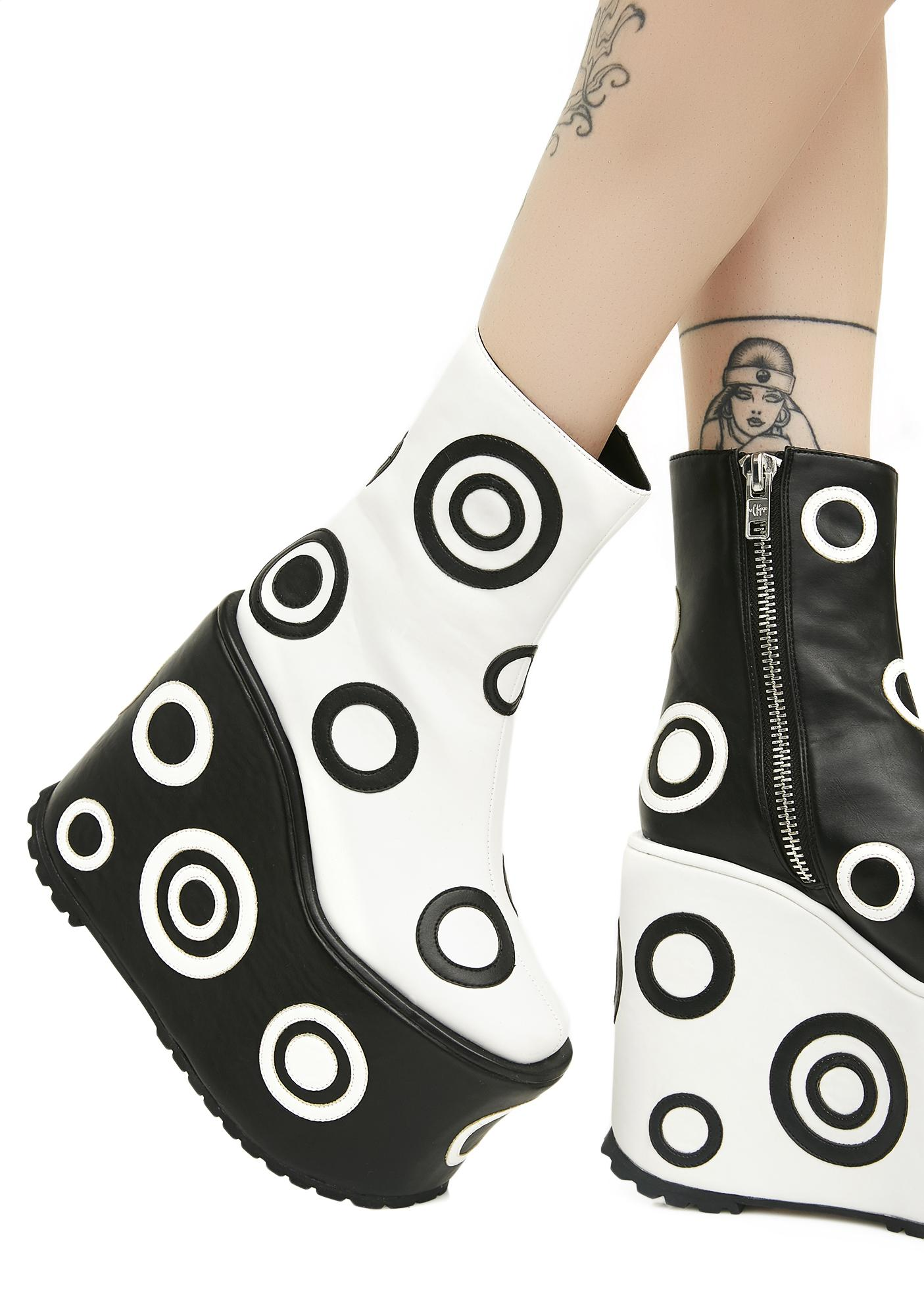 Current Mood Bullseye Boots