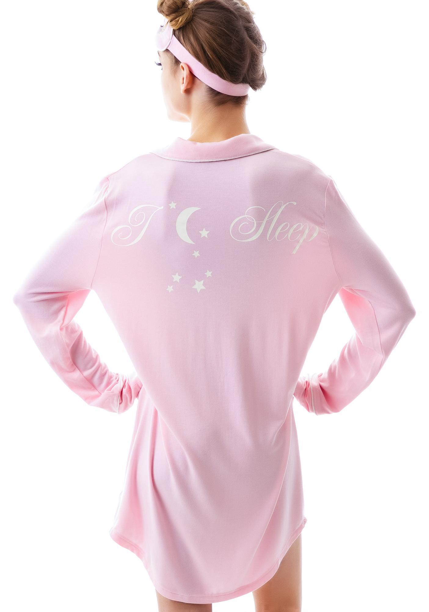 Wildfox Couture I Love Sleep Sleepshirt