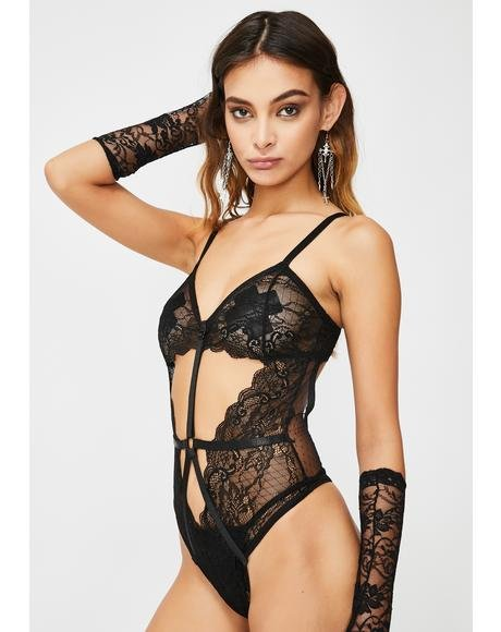 Mad Love Lace Bodysuit