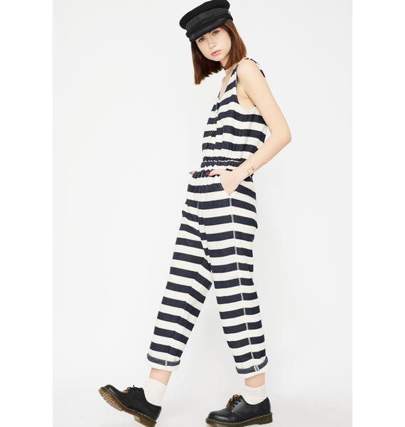 Prison Breaker Stripe Jumpsuit
