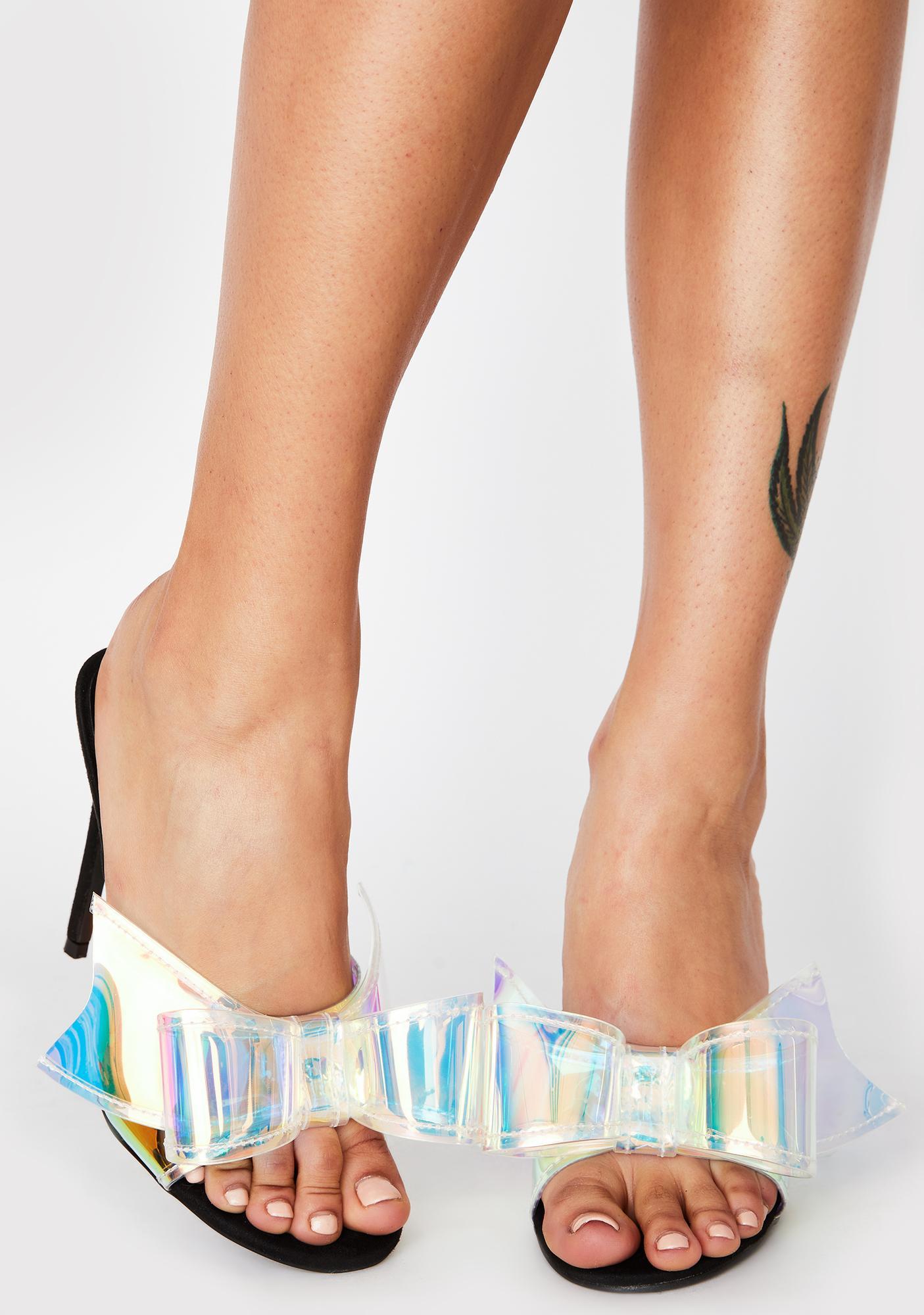Never Been Better Holographic Heels