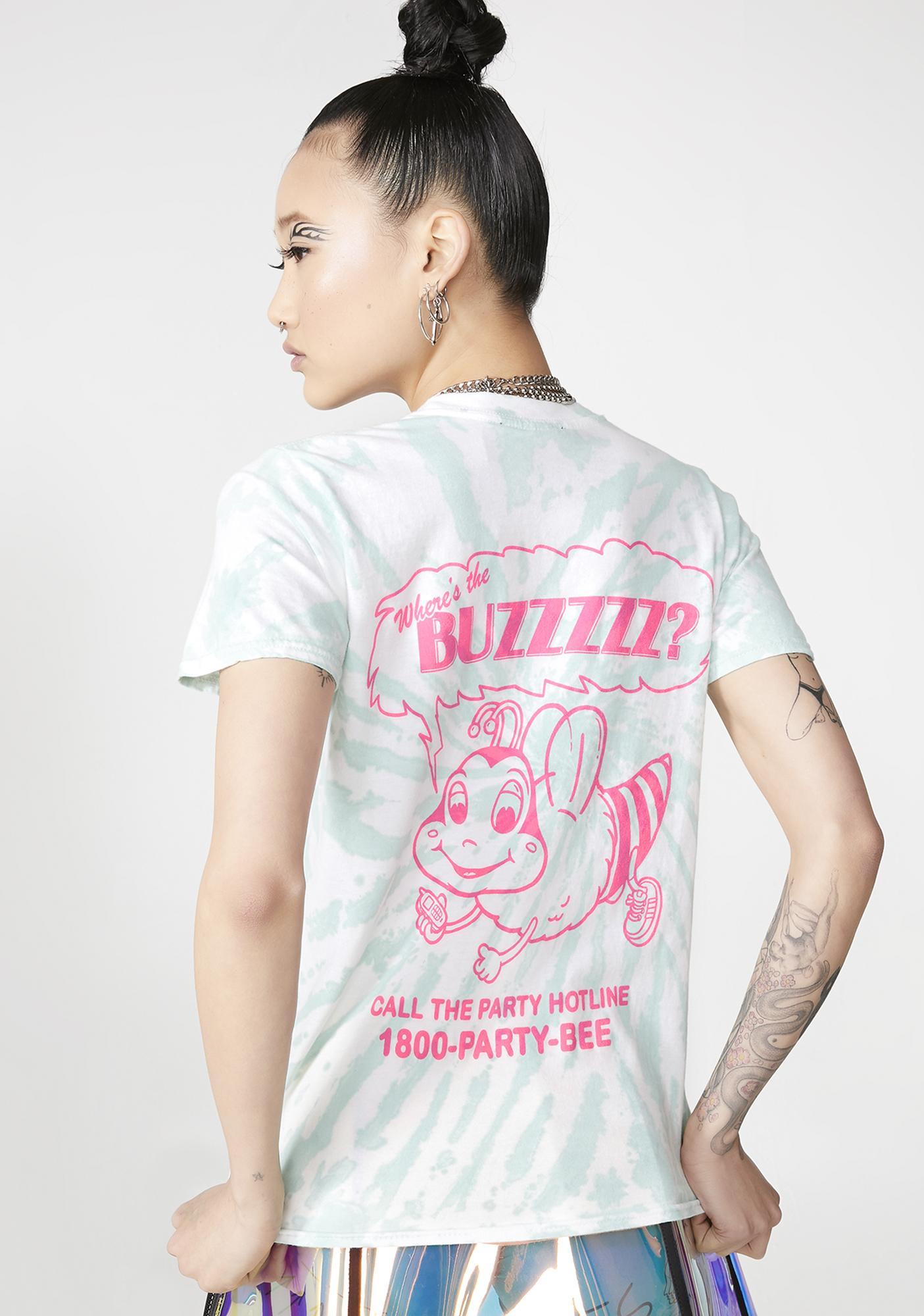 NEW GIRL ORDER Where The Buzz Tee