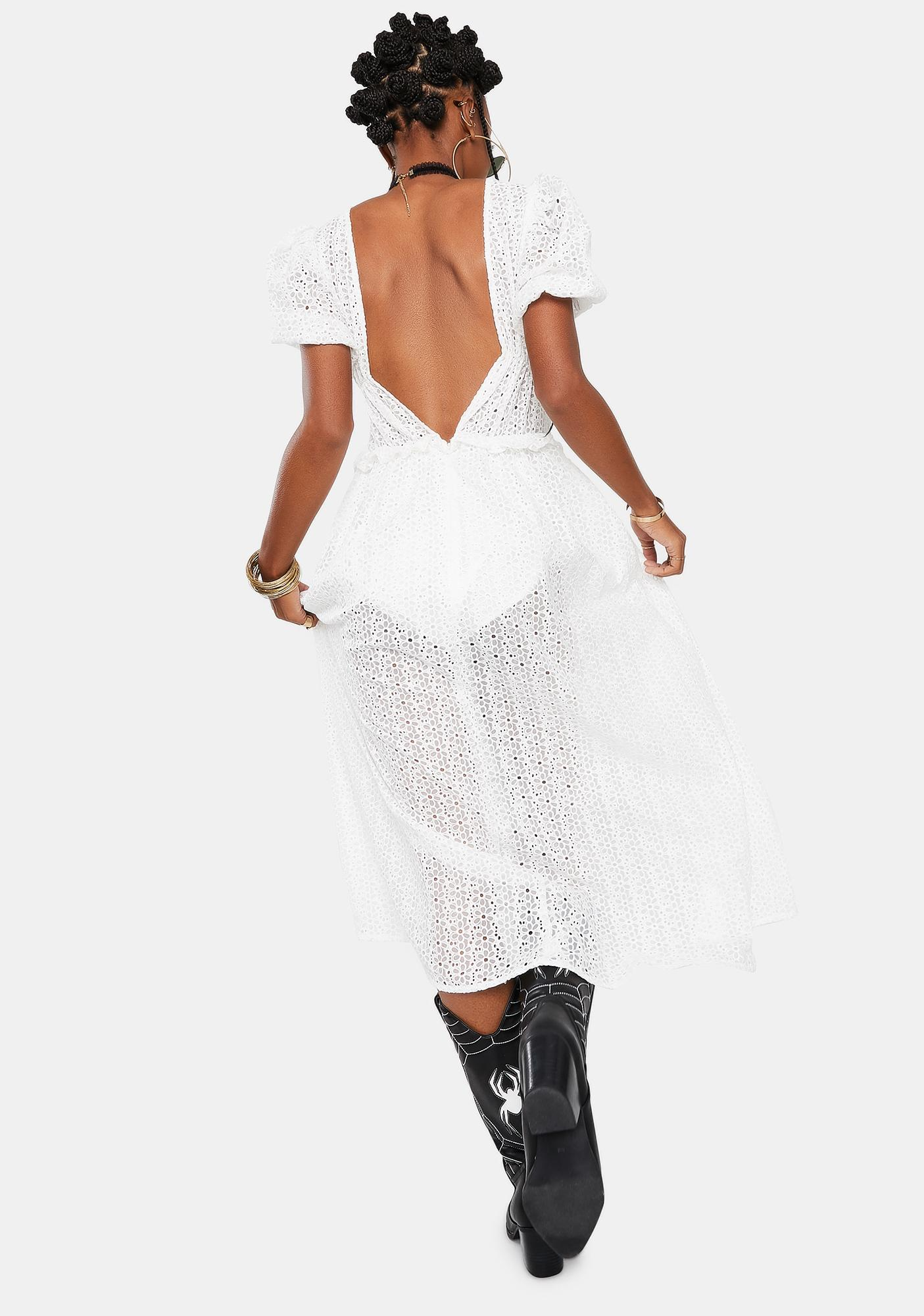 For Love & Lemons Cosmo Maxi Dress