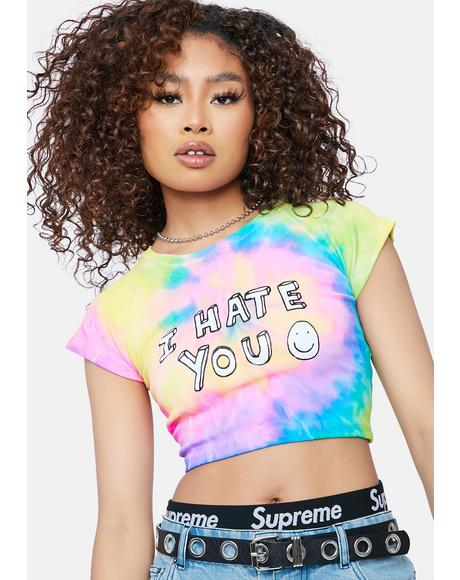 I Hate You Graphic Tee
