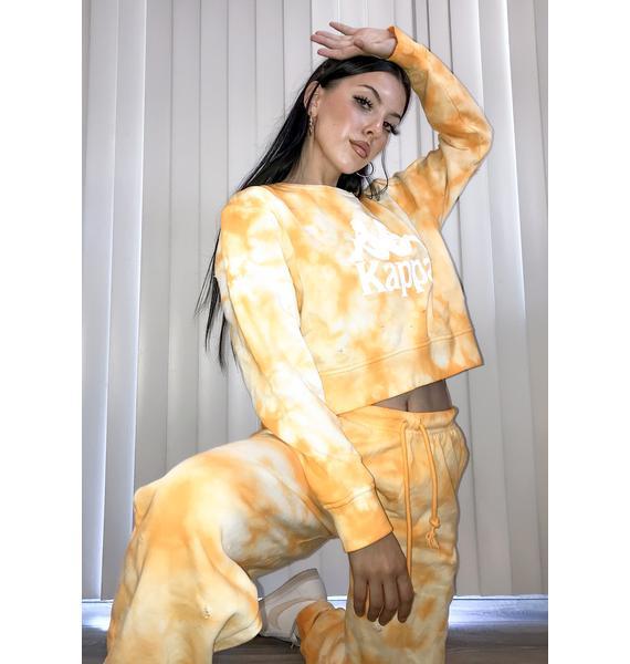 Kappa Cavosa Tie Dye Sweatshirt