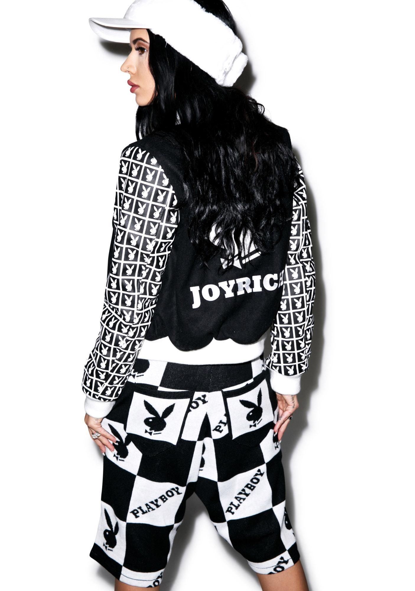 Joyrich X Playboy Checker Knit Shorts