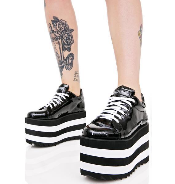 Current Mood Night Shiner Platform Sneakers