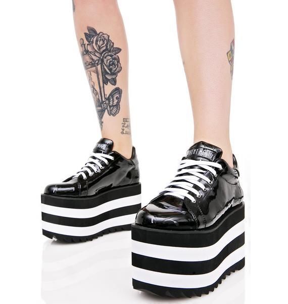 Current Mood Night Shiner Platform Sneakers