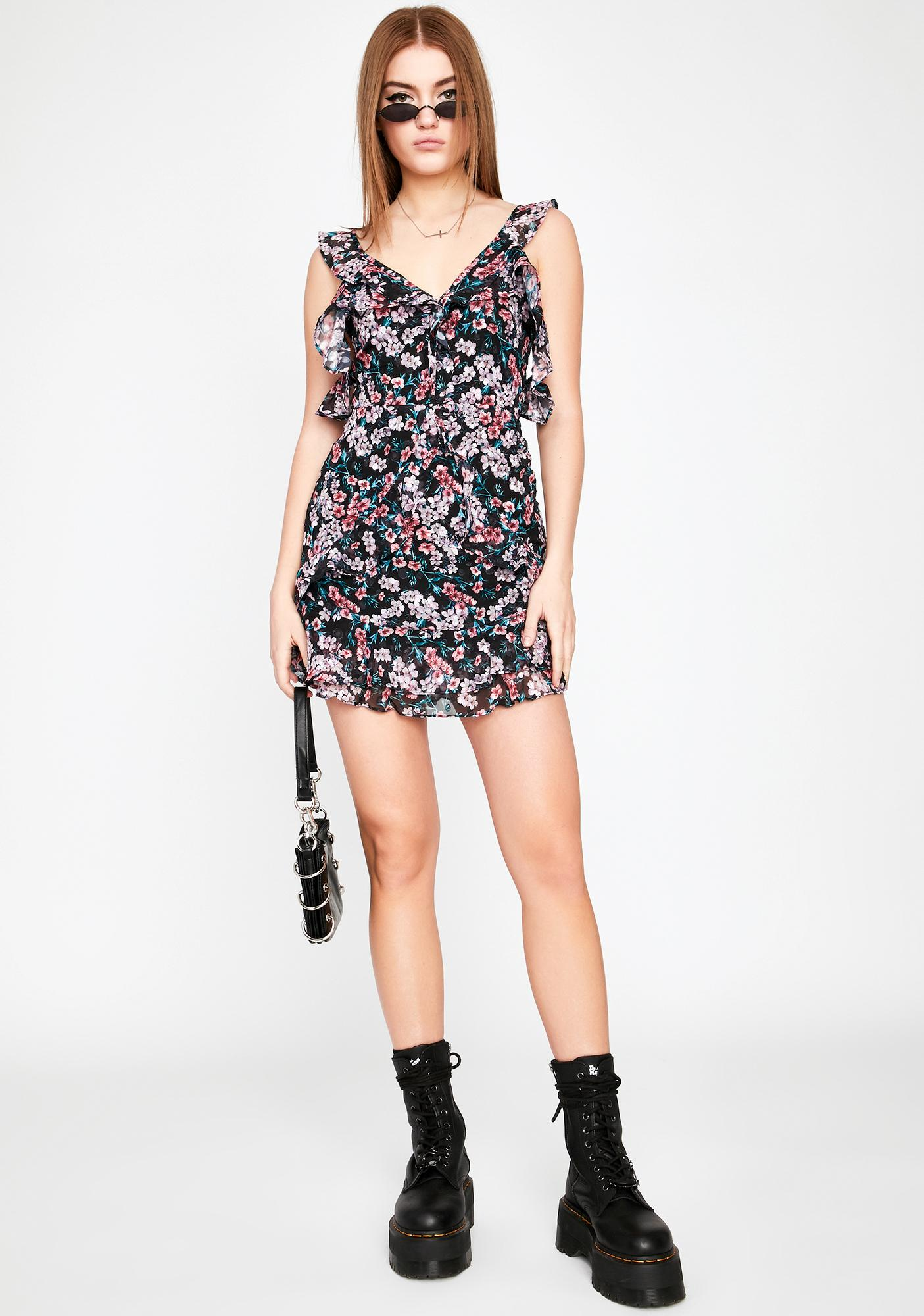 Positively Yours Ruffle Dress
